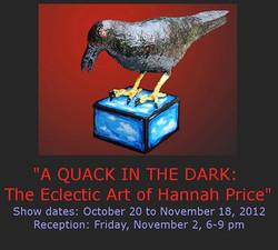 2012 October & November - Hannah Price