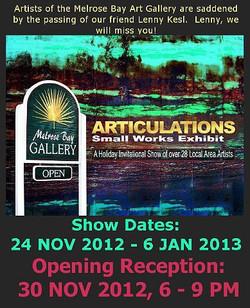 2012 November - 2013 January_Articulations