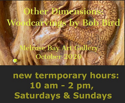 2020 November - Bob Bird Wood Sculptures