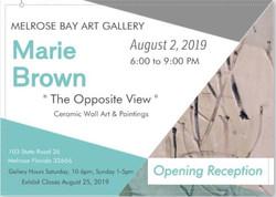 2019 August - Marie Brown