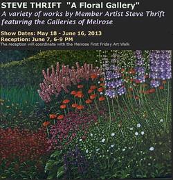 2013 May & June - Steve Thrift