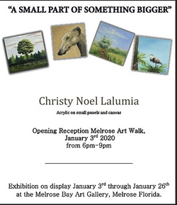 2020 January - Christy Lalumia