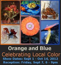 2012 September & October - Orange and Blue