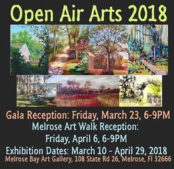 2018 March & April - Open Air Arts
