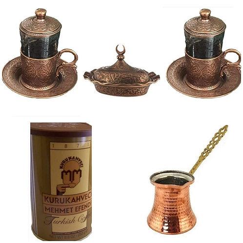 Set Turco café