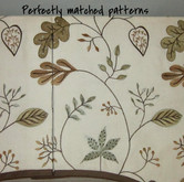 Perfectly matched patterns