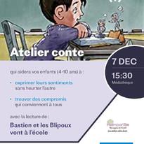 Atelier conte enfants 5 12 ans Jessie Servant Faber Mazlish communication bienveillante Institut Français Bratislava Slovaquie