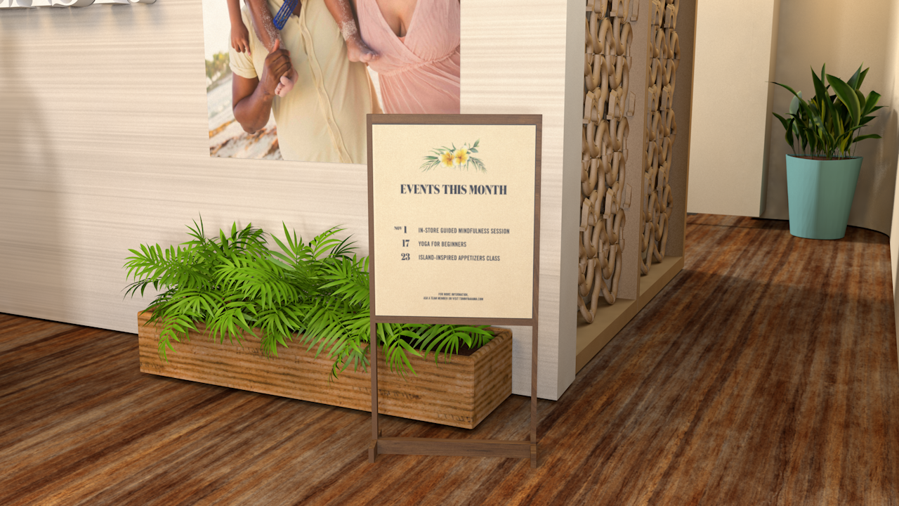 In-Store Event Signage