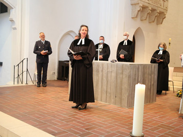 Einführung von Marion Seidel als neue evangelische Polizeiseelsorgerin für Südbayern.