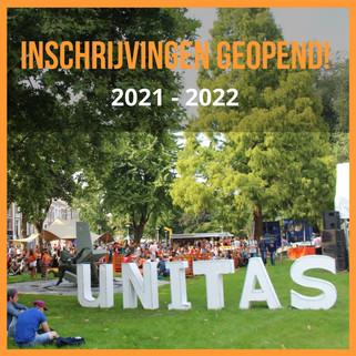 Inschrijvingen Unitas S.R. open!