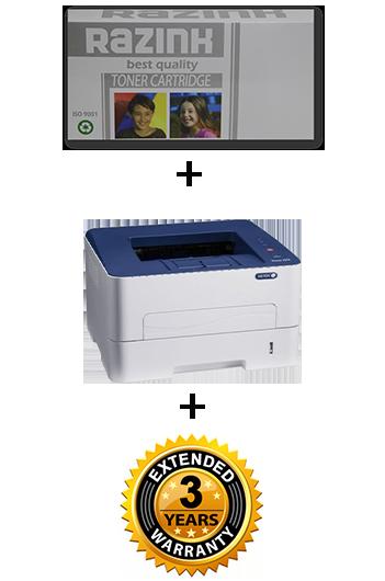 Xerox Phaser 3052 NI + 106 R 02778 + אחריות מורחבת