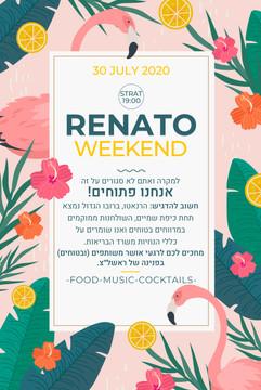 RENATO - Event Graphic