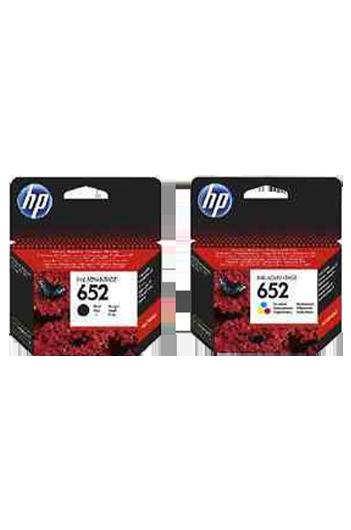 HP 652 - סט 2 ראשי דיו