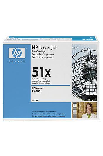 HP 51X Q7551X  טונר מקורי