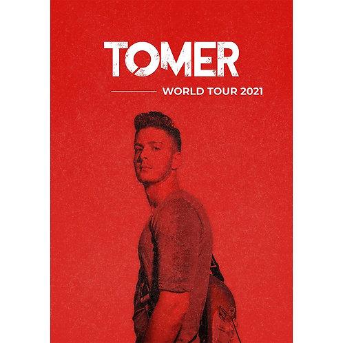 TOMER 2021 TOUR POSTER