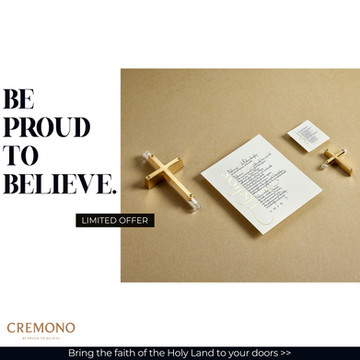 CREMONO - Promotional Graphic