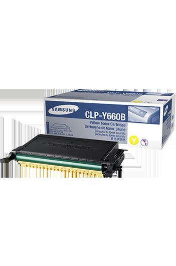 Samsung CLPY660B טונר מקורי
