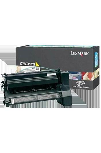 Lexmark C782X1YG טונר מקורי