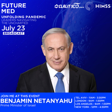 BENJAMIN NETANYAHU - Futuremed 2020 Kit