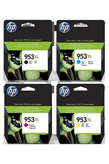 HP 953XL - סט 4 ראשי דיו מקוריים