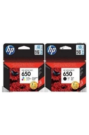 HP 650 -סט 2 ראשי דיו