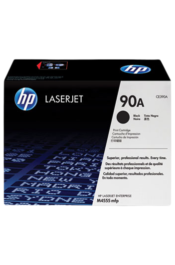 HP 90A Black LaserJet טונר מקורי