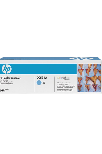HP CC531A טונר מקורי