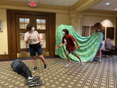 In class - Camp Shakespeare 2021