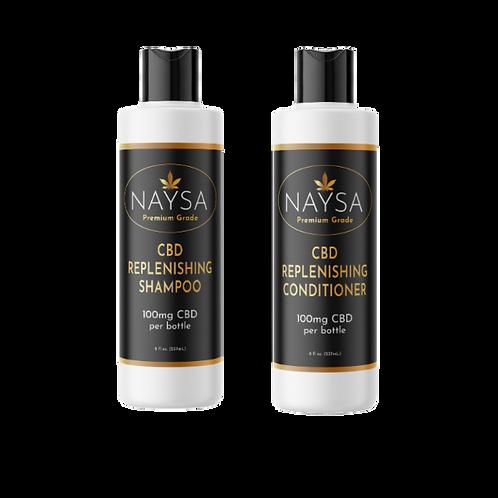 CBD Shampoo & Conditioner Set
