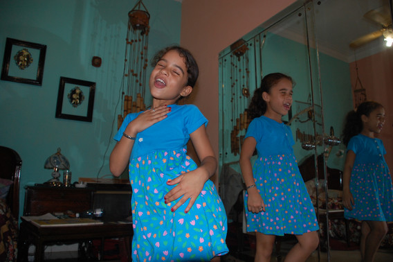 The twins, Havana, 2008