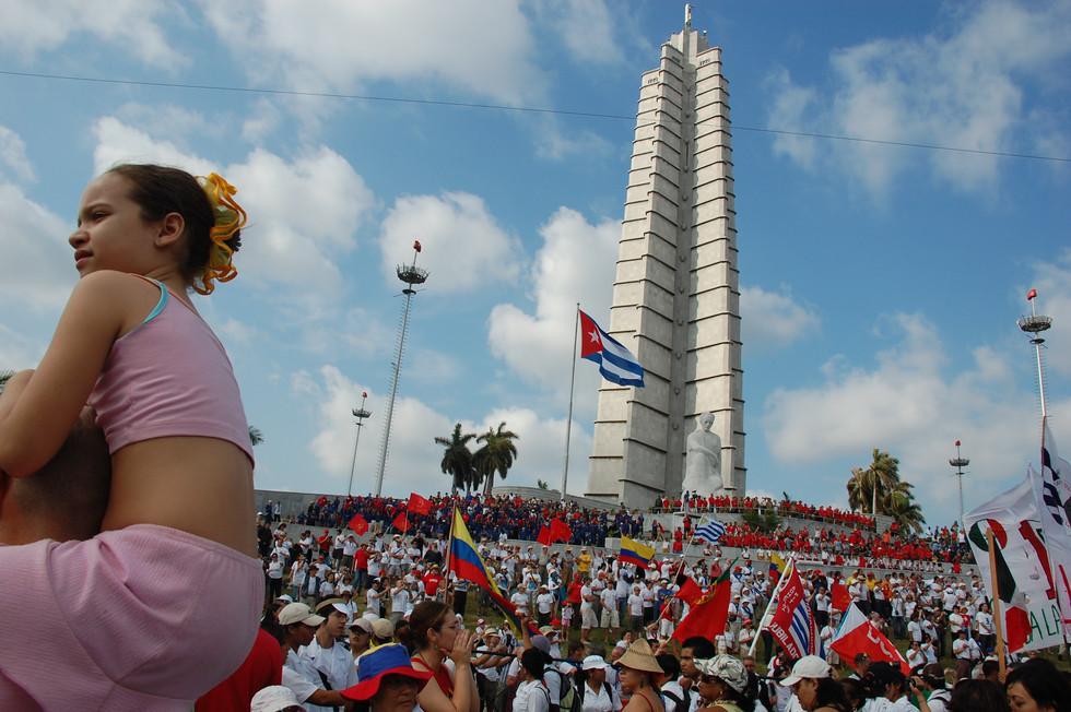 May Day, Havana, 2008