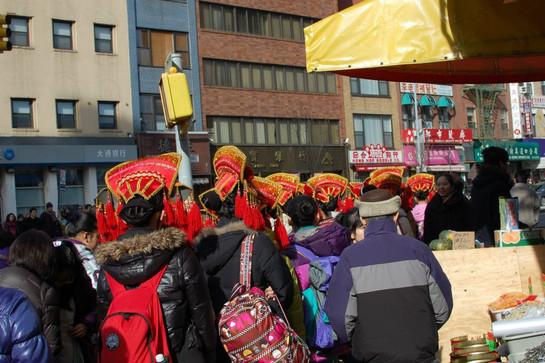 Chinese New Year celebration, Chinatown, 2012
