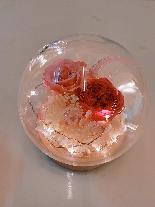 保鮮花盅(圓球款)
