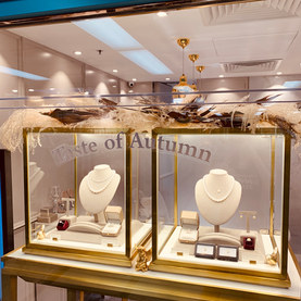 Jewellery shop decorations