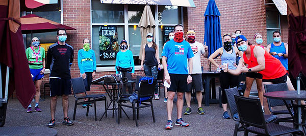 Pittsburgh Runners in Bakery Square