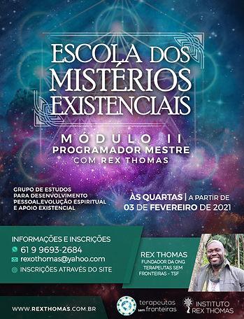 03 de Fevereiro 2021 - Escola de Mistéri