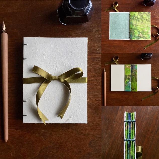 Green Little Simple Book