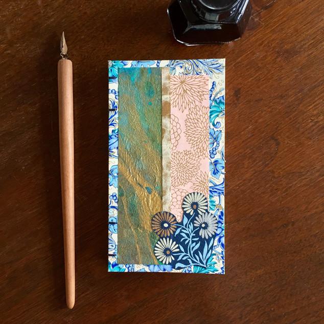 Little Blue Flower Book