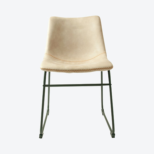 Cream Moleskin Dining Chair  Set of 2 - Free Delivery