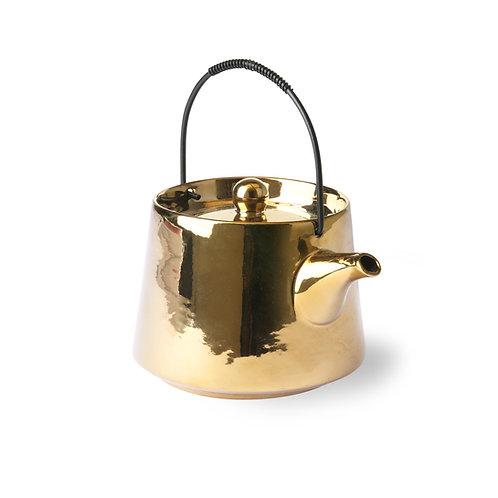 Japandi Style Gold Teapot