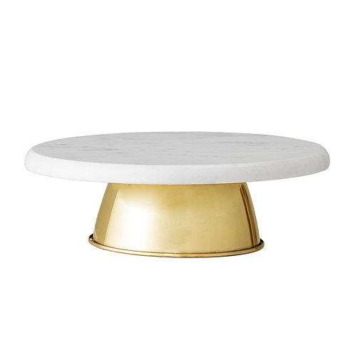 Milano Metal Marble Cake Stand