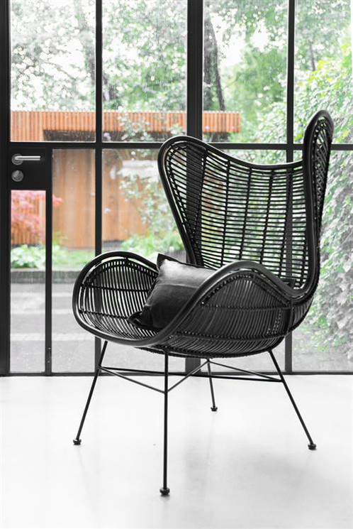 Rattan Wing Chair, This On Trend Handcrafted Rattan Wing Style Armchair, Is  A Great New Take On The Iconic 1950u0027s Egg Chairs. Super Stylish And  Versatile, ...