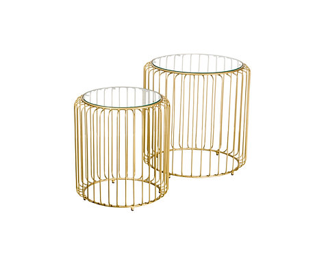 Hollywood Nested Side Tables
