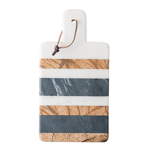 Multicolour Marble Striped Designer Chopping Board