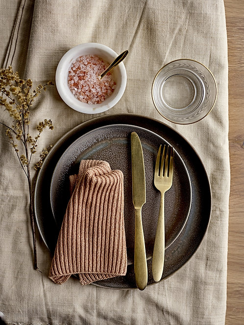 Gold Cutlery Place Set - 4 pcs