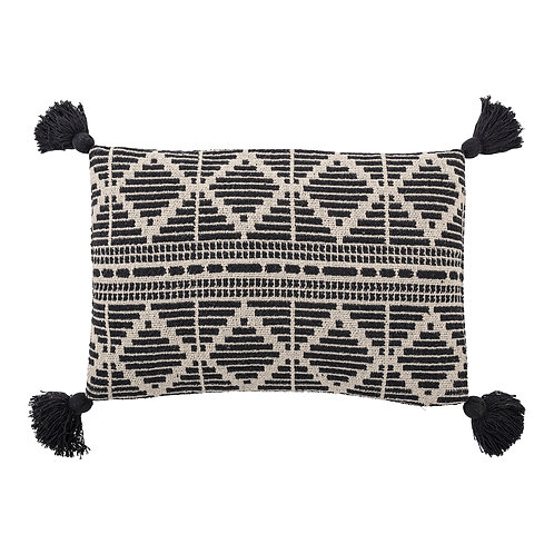 Recycled cotton cushion - Woven Diamond Tapestry cushion (40x60)