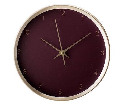 Wine Wall Clock - Gold Plum Digital Kitchen clock
