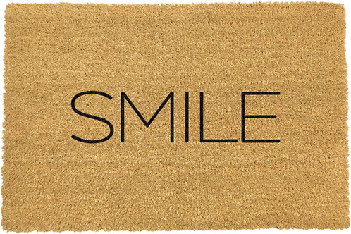 Smile - Coconut Coir Welcome Door Mat