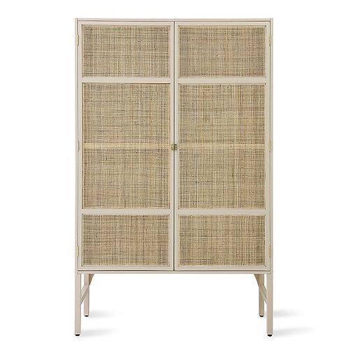 Sand Kimono Style Storage Cabinet