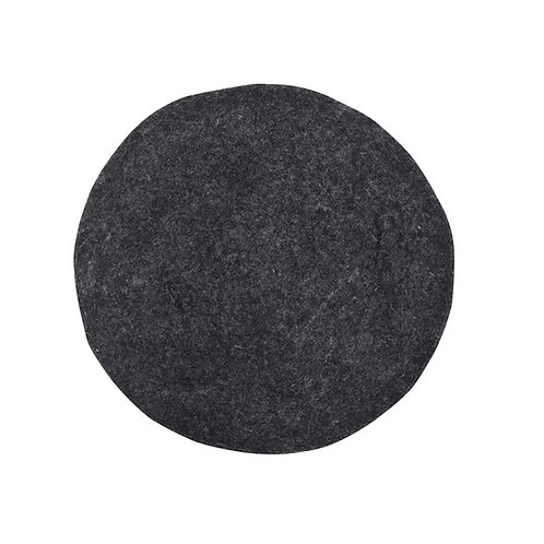 Charcoal Grey Felt - Seat Pads